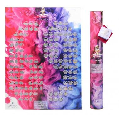 Подробный скретч постер игра MyGift Poster Sex edition ENG,  в оригинальном тубусе, 47х68 см